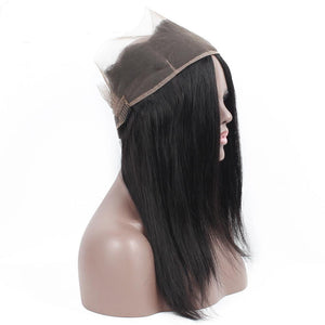 Hairocracy Straight Remy Virgin 360 Lace Closure Hair Extension Weave