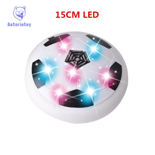 Indoor Football LED Toy -  Multi-surface Hovering and Gliding Toy