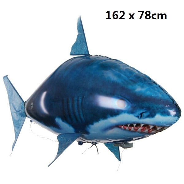 Remote Control Shark Toys / Air Swimming Fish / Infrared RC Flying Air Balloons / Nemo Clown Fish Kids Toys / Gifts Party Decoration