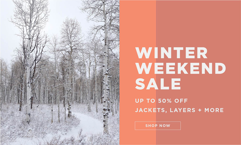 Oiselle Winter Weekend Sale Up to 50% off jackets, layers and more