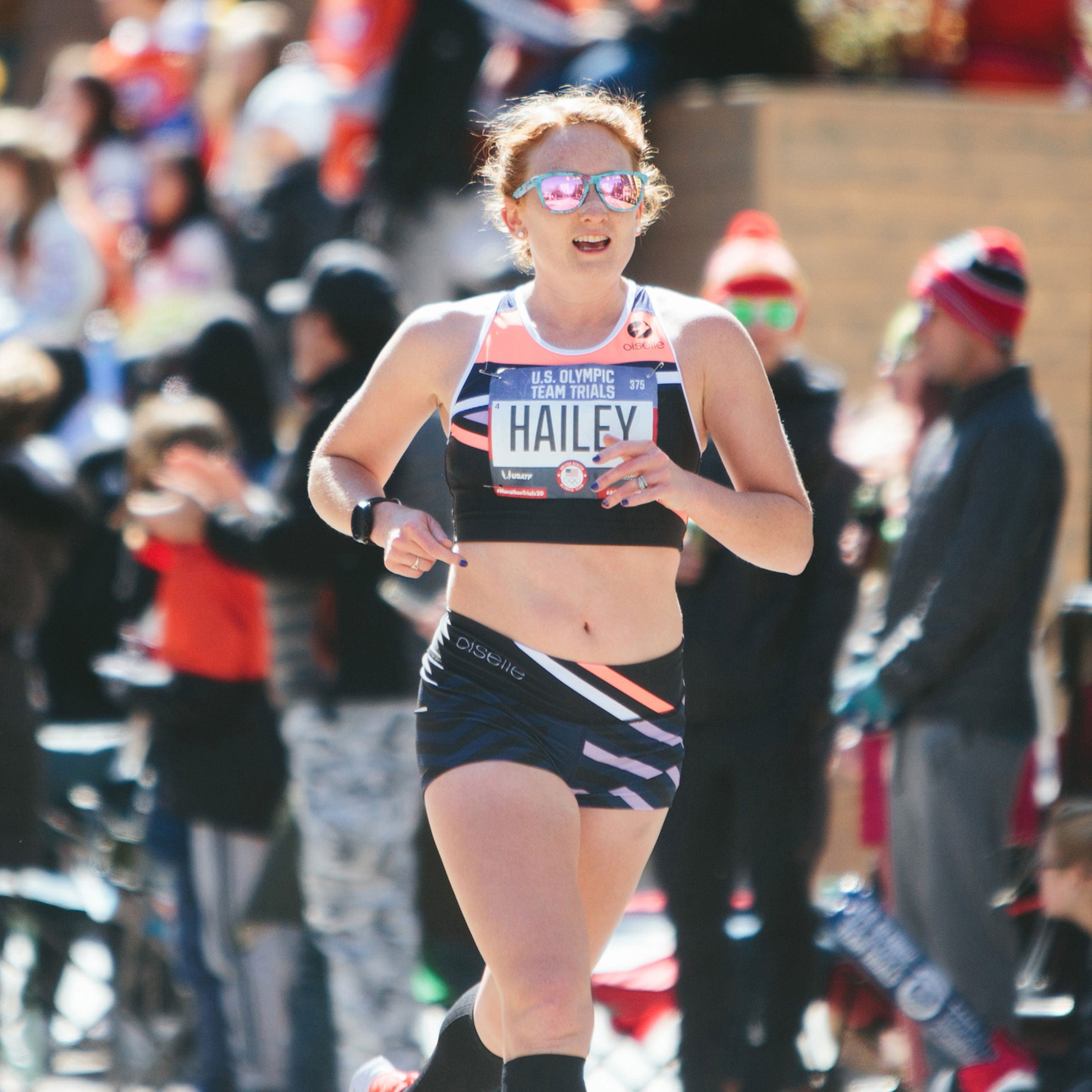 THERESA HAILEY: RACING WITH JOY