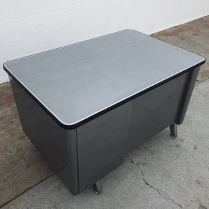 Allsteel Single Pedestal Tanker Desk