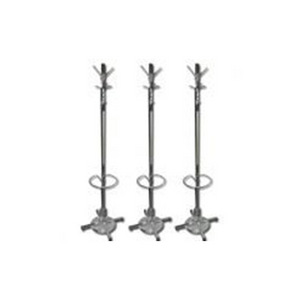 Coat Rack w/Umbrella Stand, Chrome