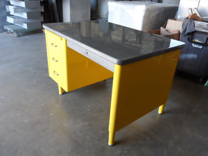 Steelcase Vintage Single Pedestal Tanker Desks