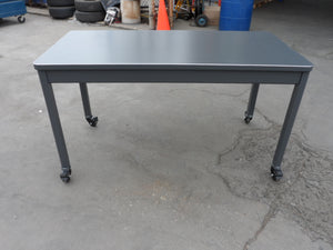 "60""x24"" Mcdowell & Craig Stick Leg Table"