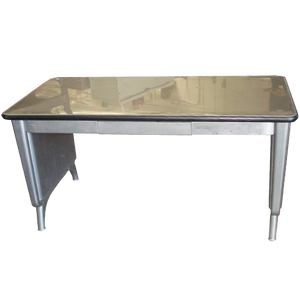Allsteel Equipment Panel Leg Table