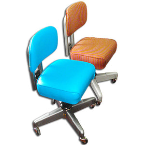 General Fireproofing Vintage Armless Steno Chair