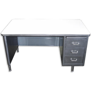 "69"" Oversized Single Pedestal Tanker Desks"