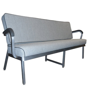 Vintage Steel Customized Reception Couch