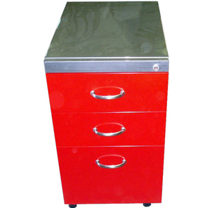 Box/Box/File Mobile Vintage Steel Pedestal