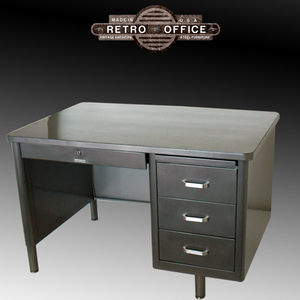McDowell & Craig Single Pedestal Tanker Desks