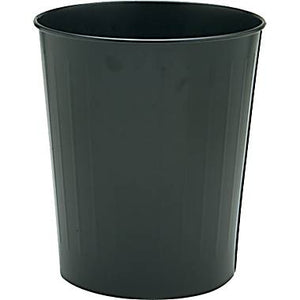 Round Steel Wastebaskets