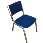 Steelcase Chrome Leg Stack Chairs