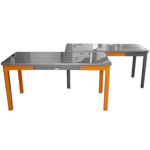 "69""x36"" Mcdowell & Craig Stick Leg Table"
