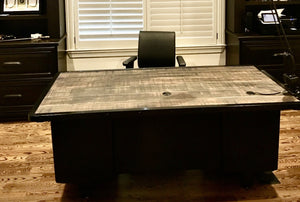 "80"" Custom Vintage Tanker desk"
