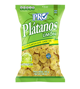 Lemon Plantain Chips