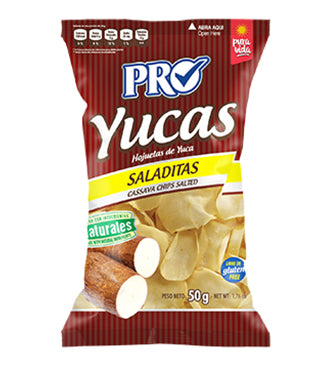 Cassava Chips Salted