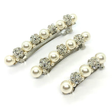 Load image into Gallery viewer, PENELOPE SPARKLE & PEARL Barrette
