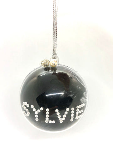 Black Feather Bauble
