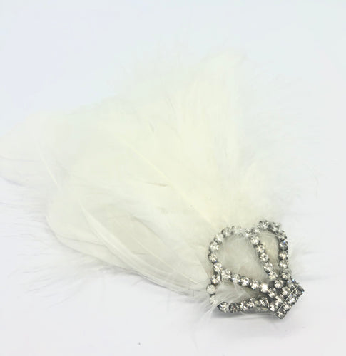 STELLA Feather Barrette