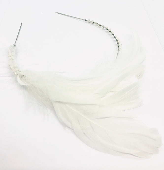 PHOEBE Feather Crown
