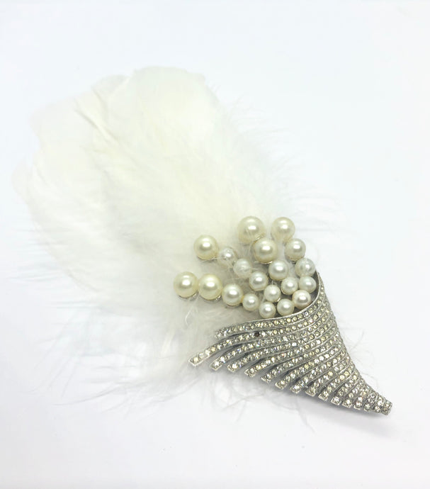 MABEL Feather Barrette