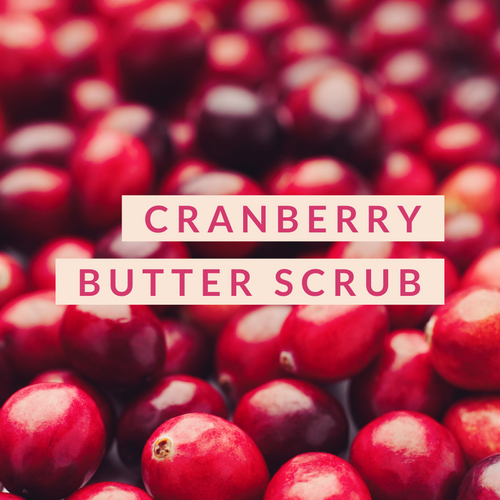 Cranberry Butter Scrub