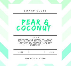 Pear & Coconut