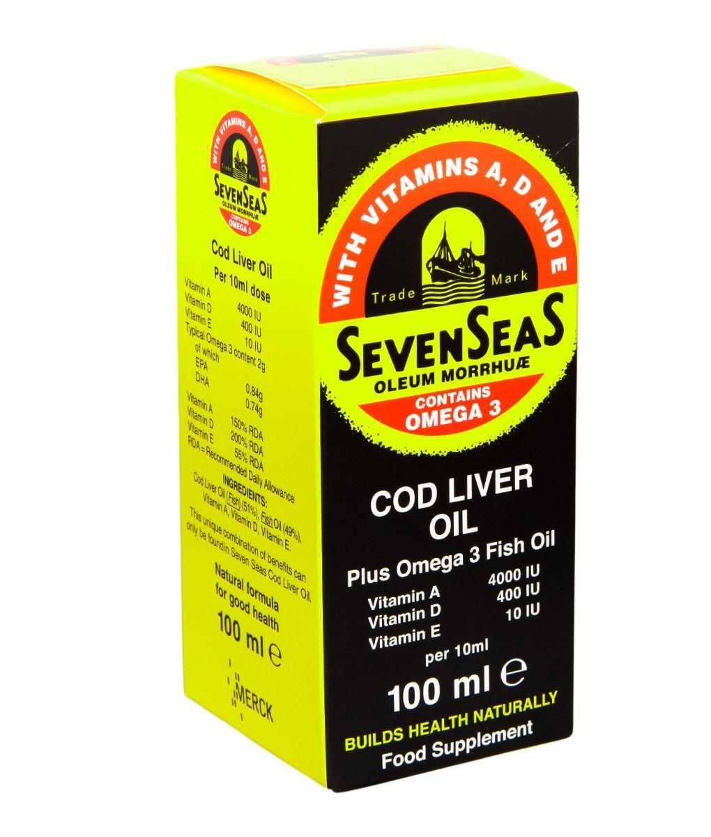 Seven Seas Cod Liver Oil 100ml