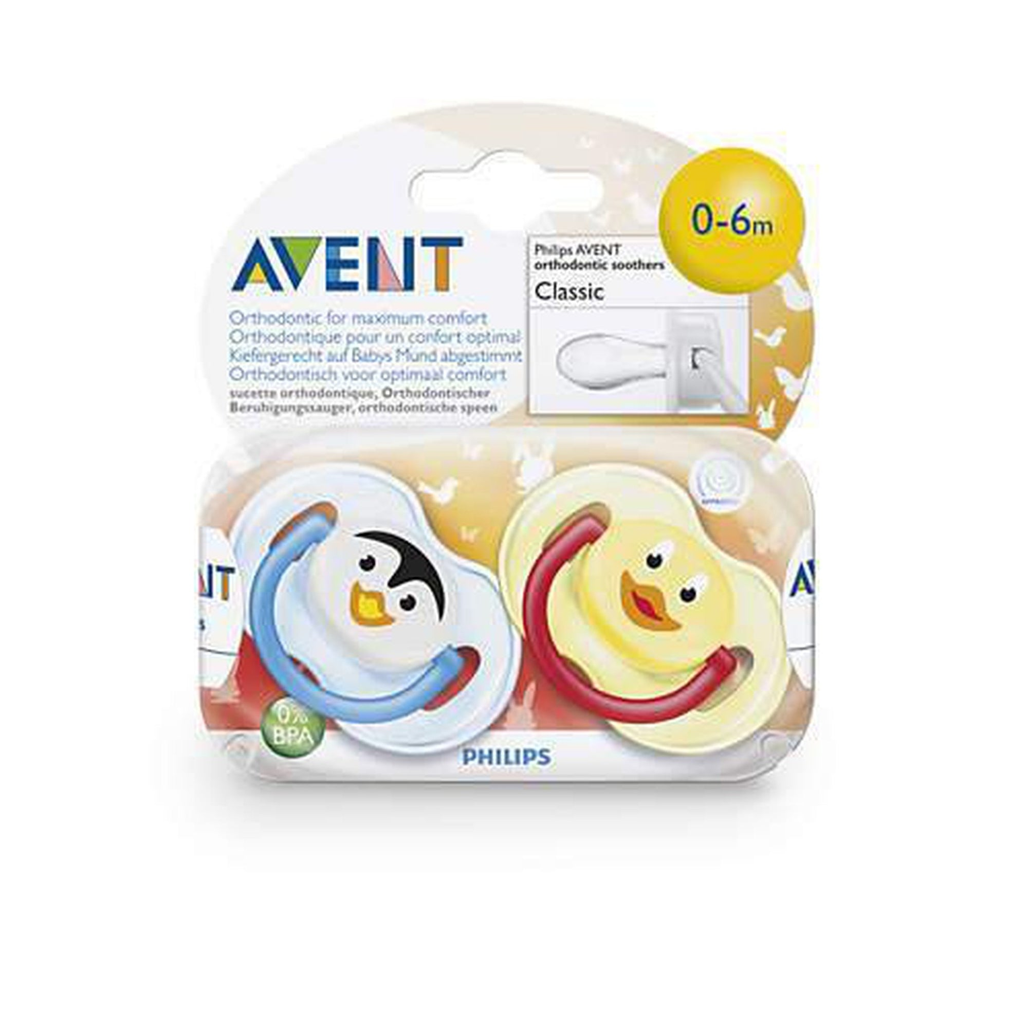 Avent Animal Orthodontic 0-6M Classic-Pacifier-Mother and Baby Shop Kenya's #1 Online Baby Shop