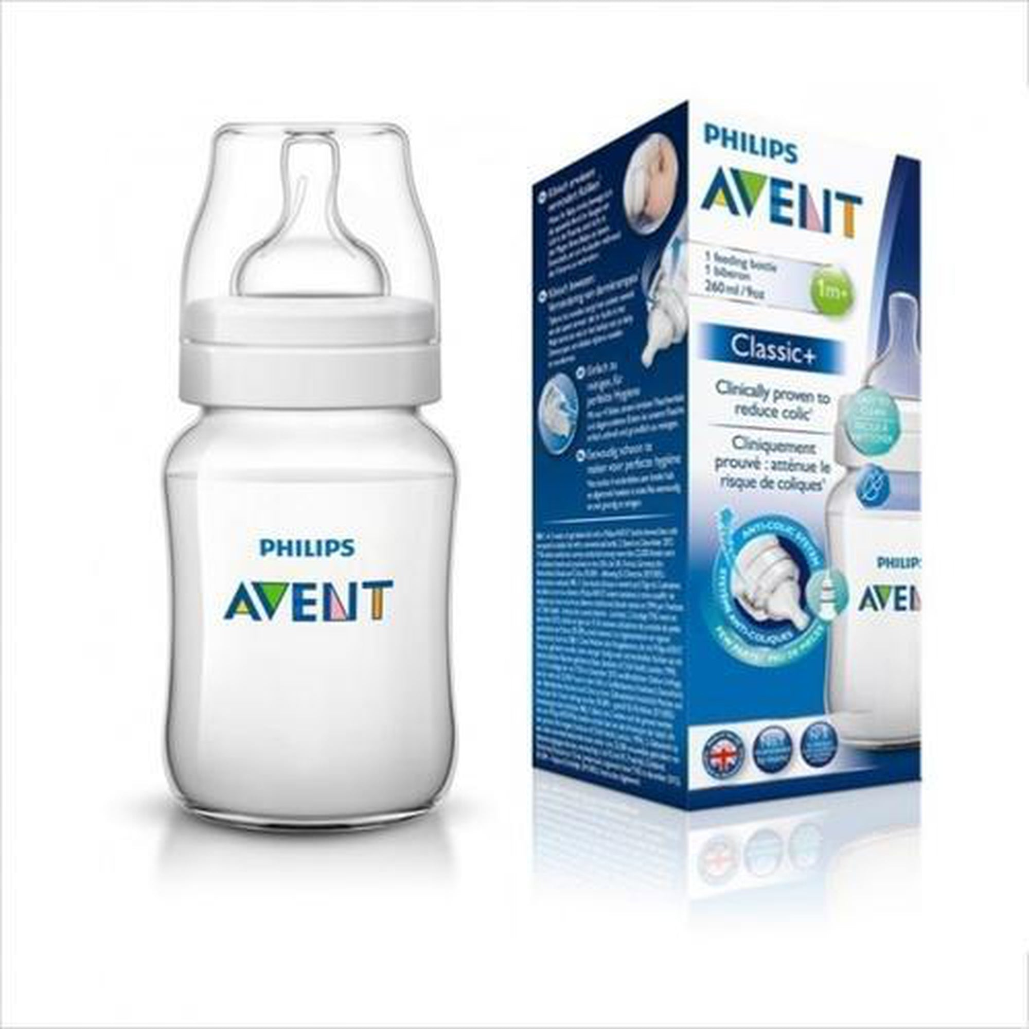 Avent Classic Feeding Bottle 260ml-Bottles-Mother and Baby Shop Kenya's #1 Online Baby Shop