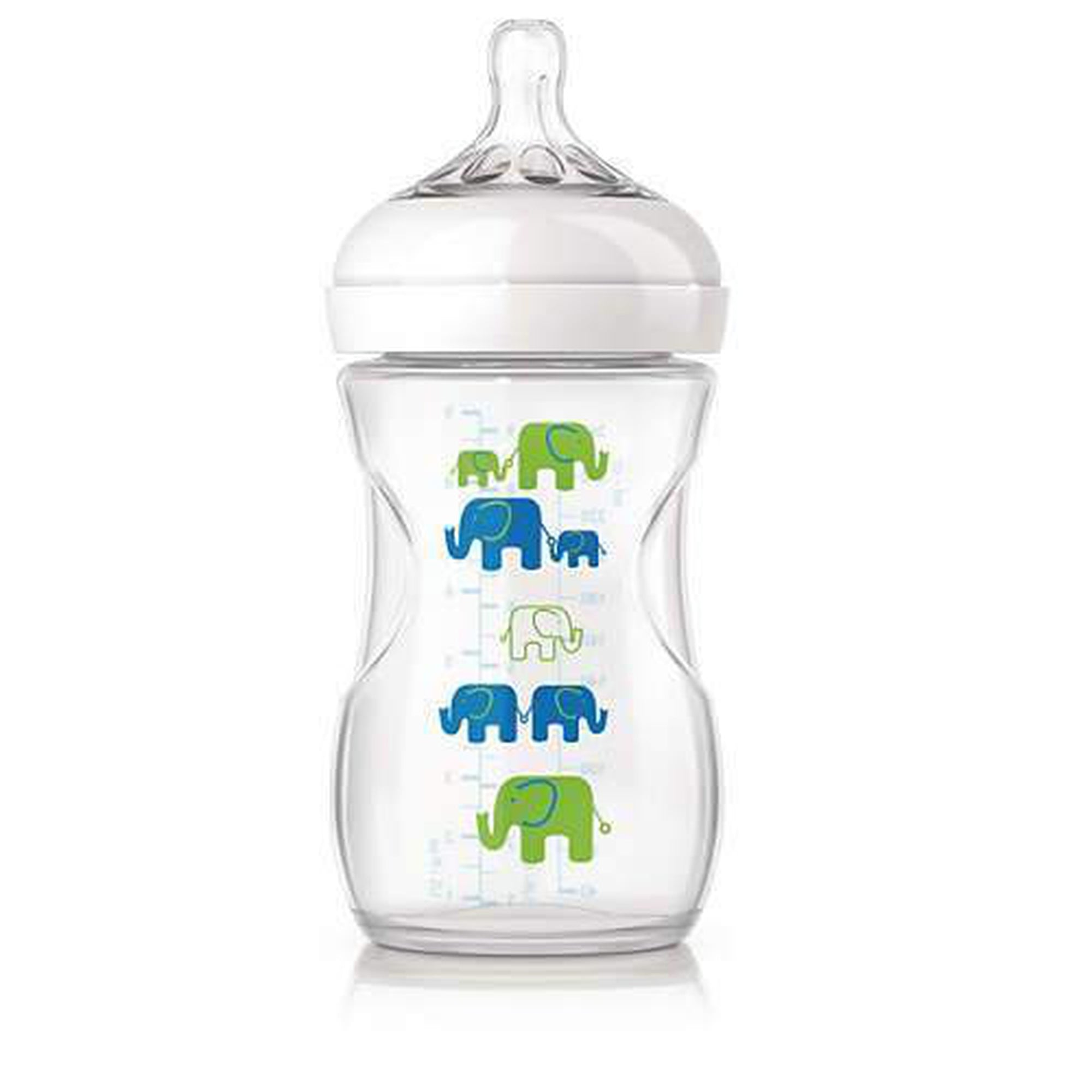 Avent Natural Feeding Bottle Printed 260ml-Bottles-Mother and Baby Shop Kenya's #1 Online Baby Shop