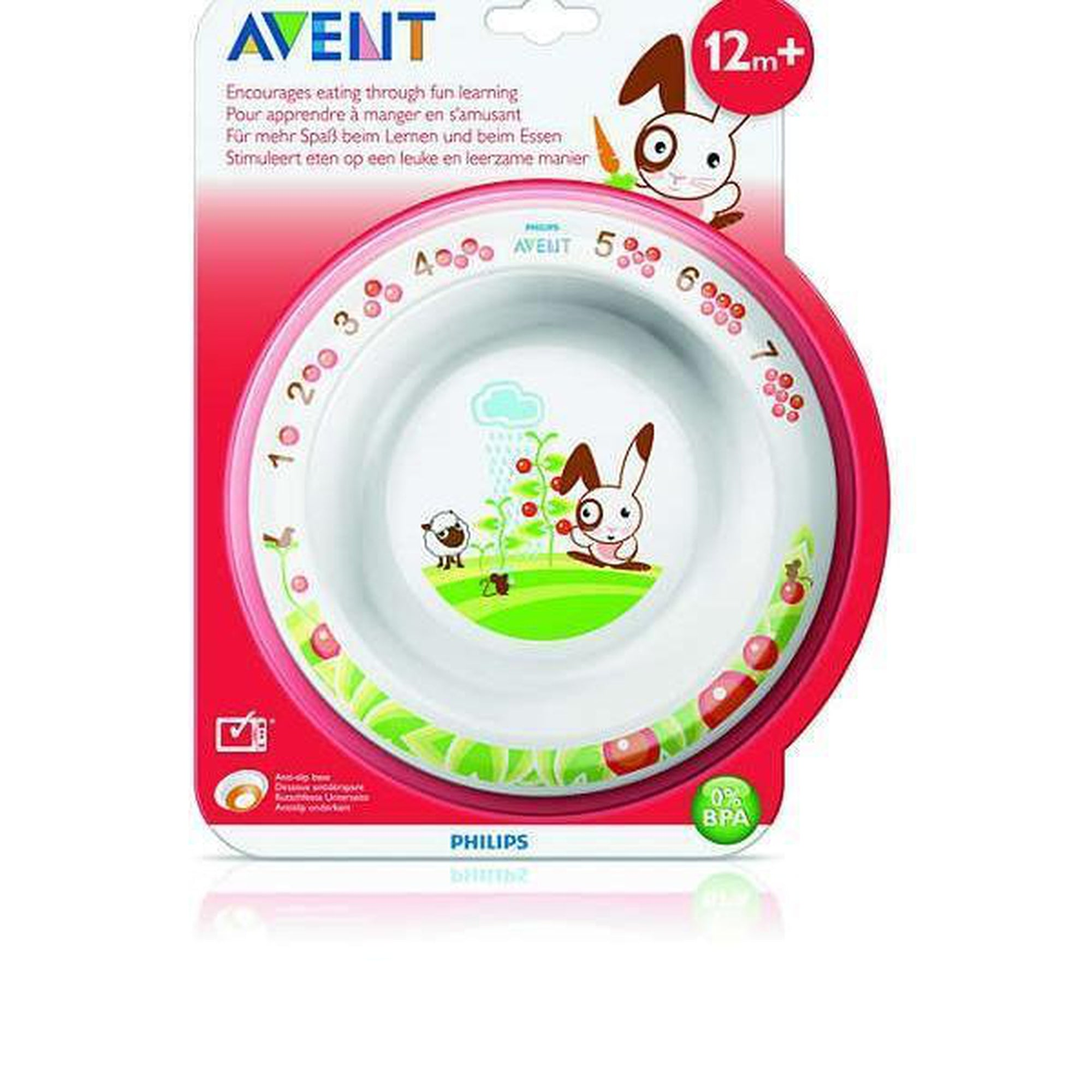 Avent Toddler Bowl Big 12m+-Tableware Cutlery and Bibs-Mother and Baby Shop Kenya's #1 Online Baby Shop
