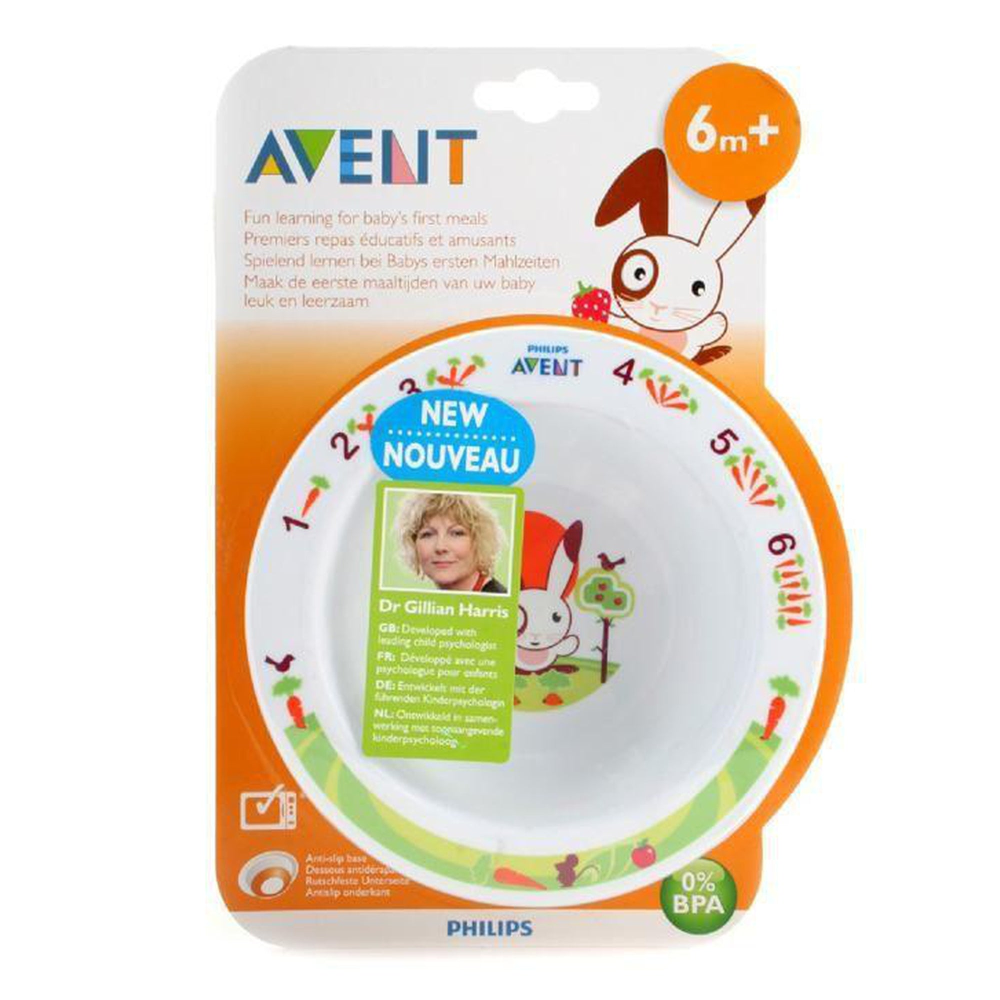 Avent Toddler Bowl Small 6m+-Tableware Cutlery and Bibs-Mother and Baby Shop Kenya's #1 Online Baby Shop