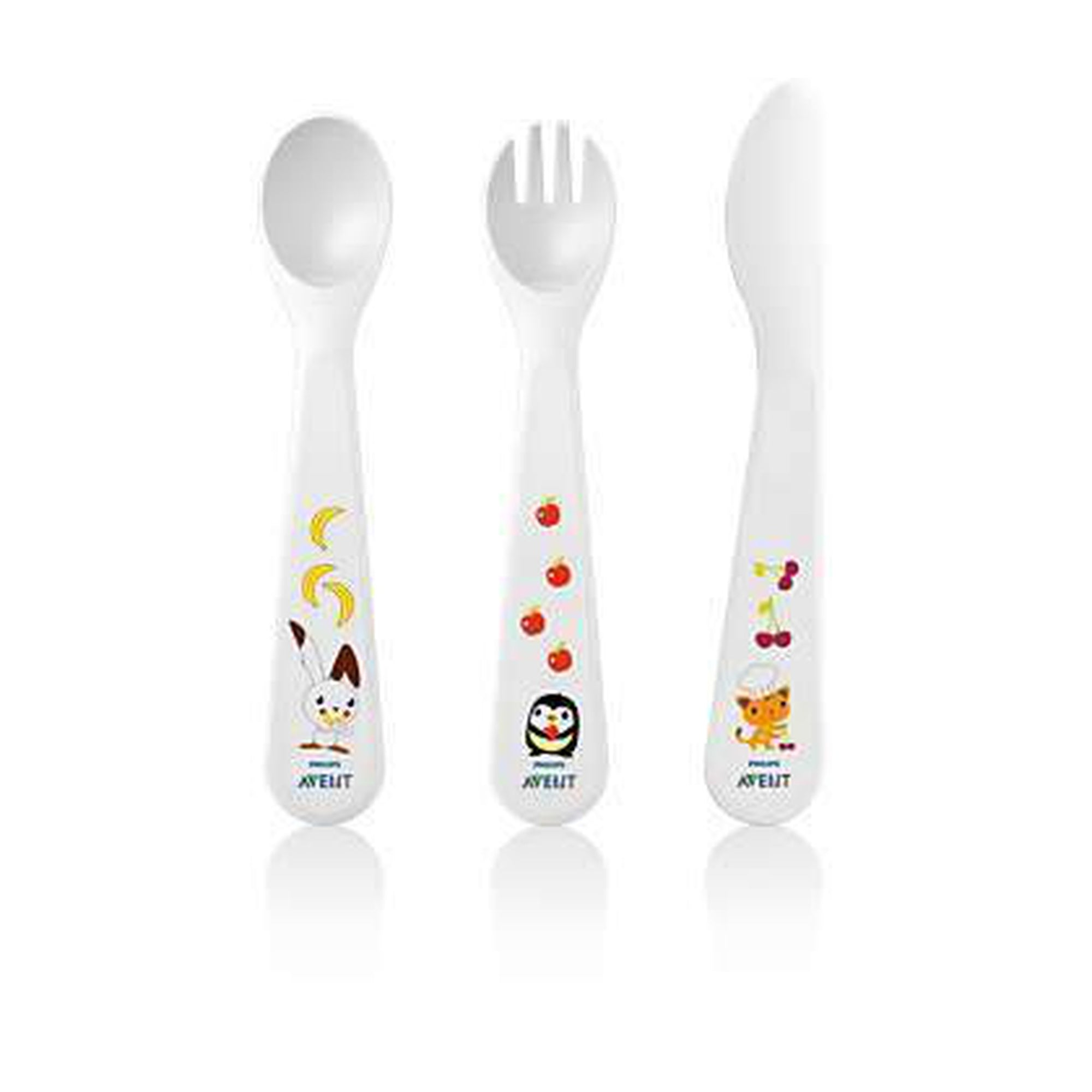 Avent Toddler Fork, Spoon and Knife BPA 18M-Tableware Cutlery and Bibs-Mother and Baby Shop Kenya's #1 Online Baby Shop