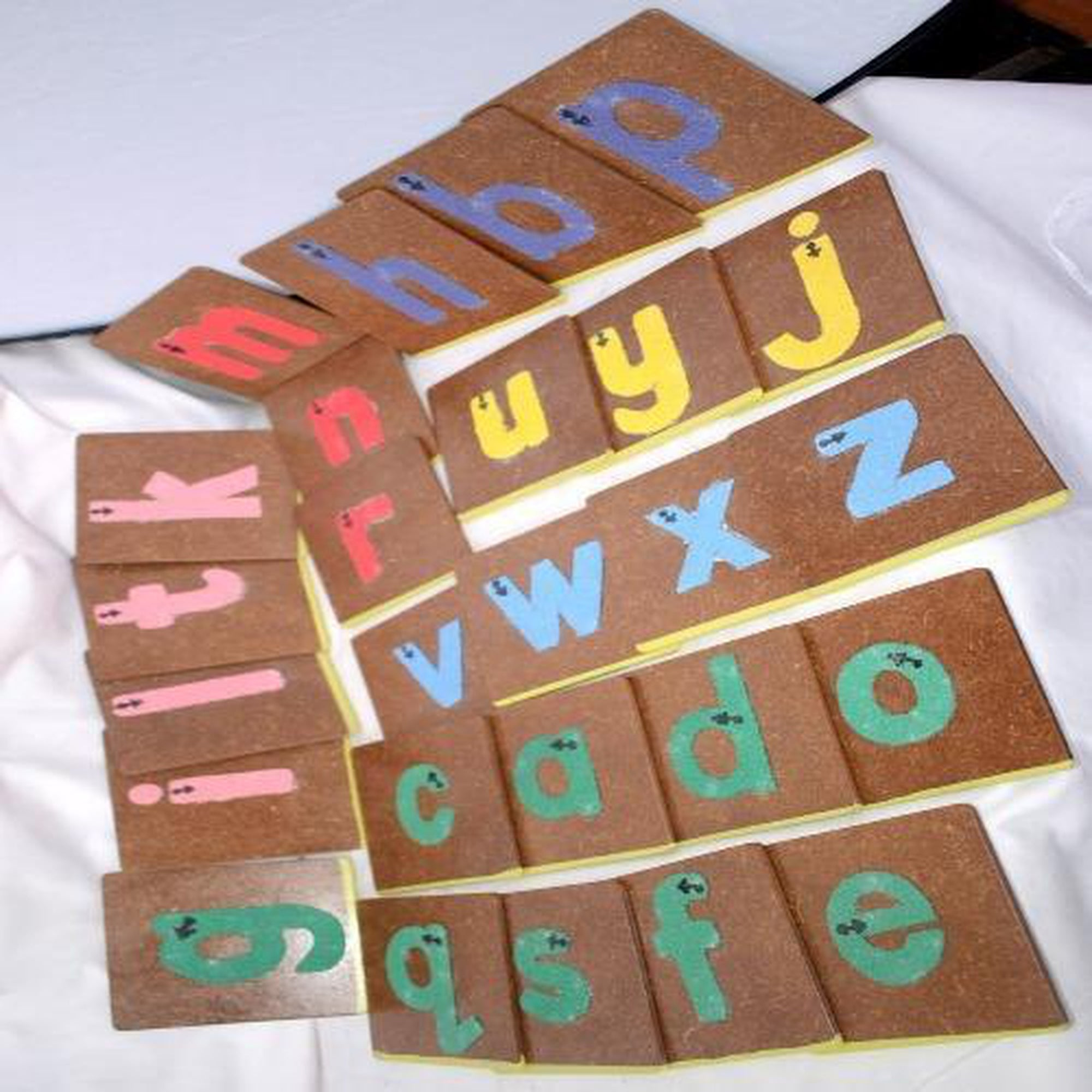 Awesome Teacher Sand Paper Alphabet Set-Toys-Mother and Baby Shop Kenya's #1 Online Baby Shop