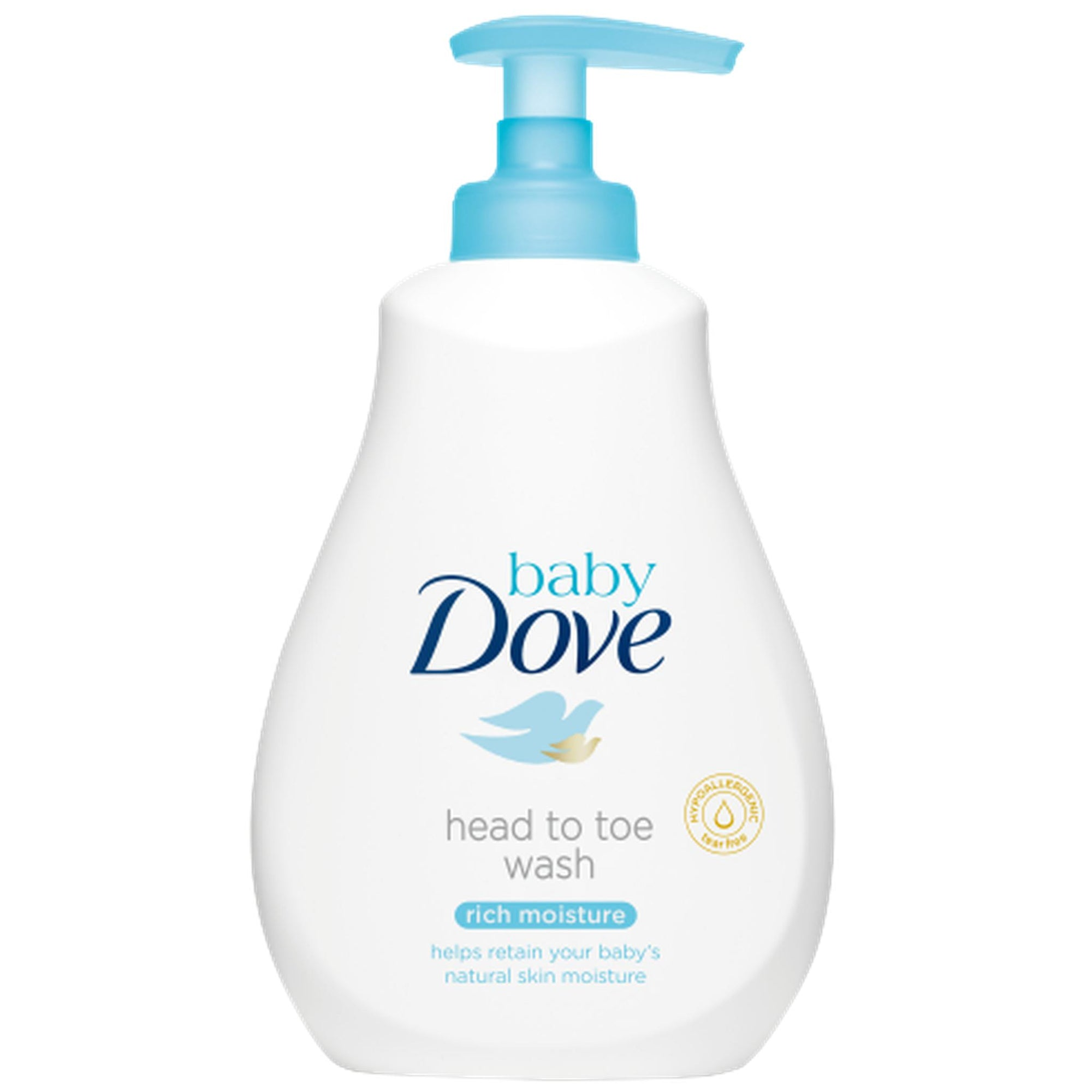 Dove Baby Head To Toe Wash-Rich Moisture 400ml-Skin Care-Mother and Baby Shop Kenya's #1 Online Baby Shop
