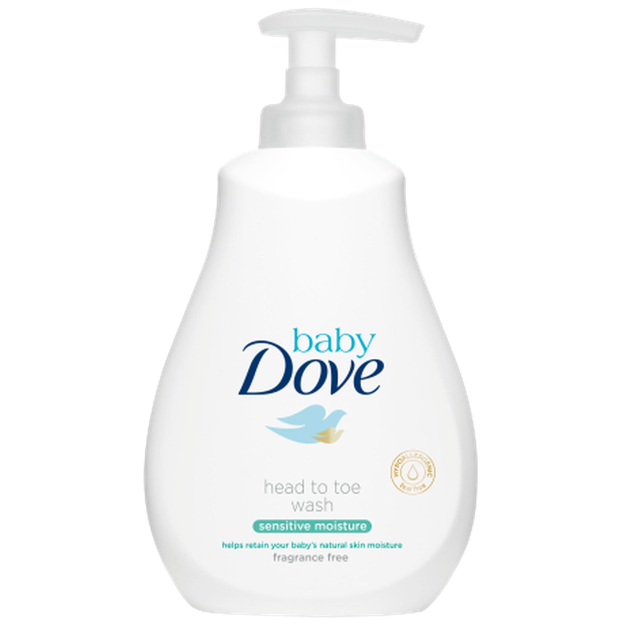 Dove Baby Head To Toe Wash-Sensitive Moisture 200ml-Skin Care-Mother and Baby Shop Kenya's #1 Online Baby Shop