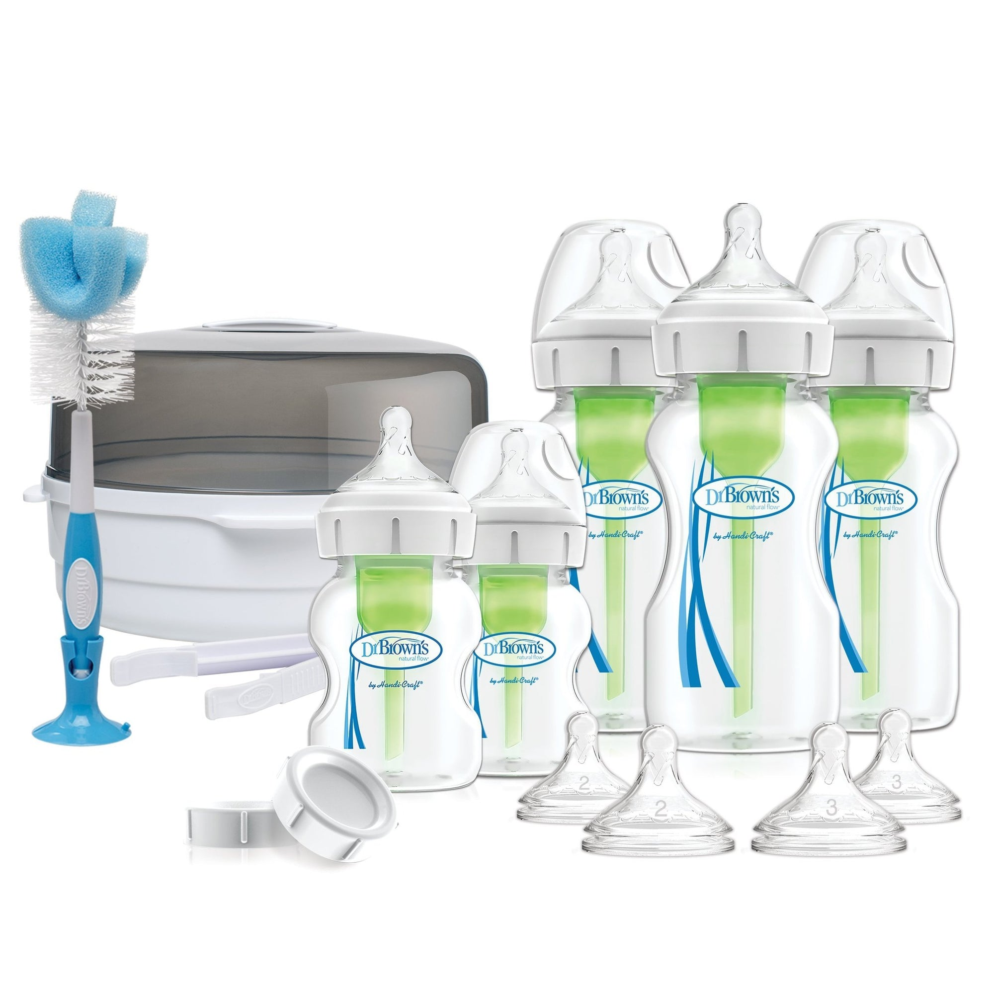 Dr. Brown's Deluxe Newborn Options+ Gift Set-Feeding Starter and Gift Sets-Mother and Baby Shop Kenya's #1 Online Baby Shop