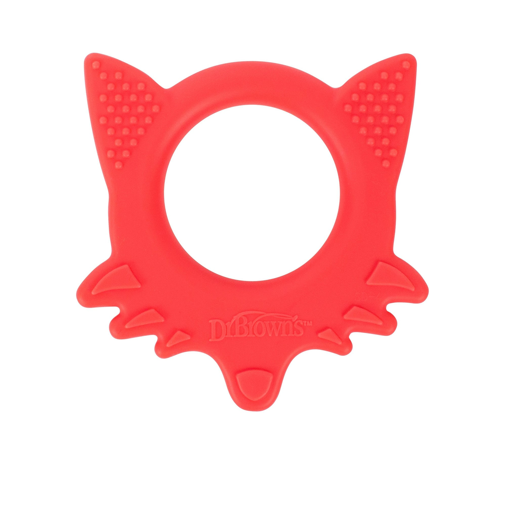 Dr. Brown's Flexees Friends Fox Teether - Red-Teether-Mother and Baby Shop Kenya's #1 Online Baby Shop