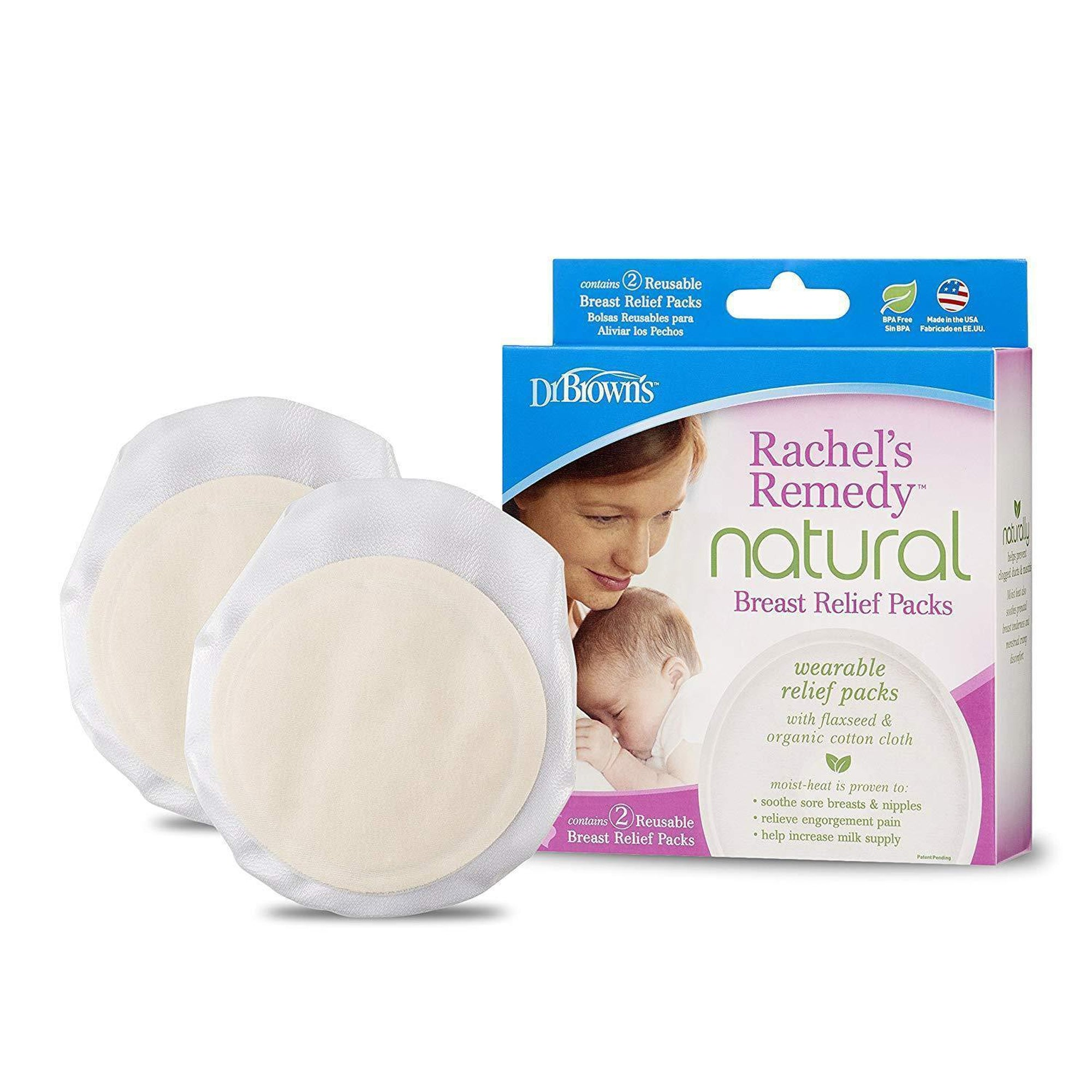 Dr. Brown's Rachel's Remedy Breast Relief Packs, 2 Pack-Breast Therapy and Relief-Mother and Baby Shop Kenya's #1 Online Baby Shop