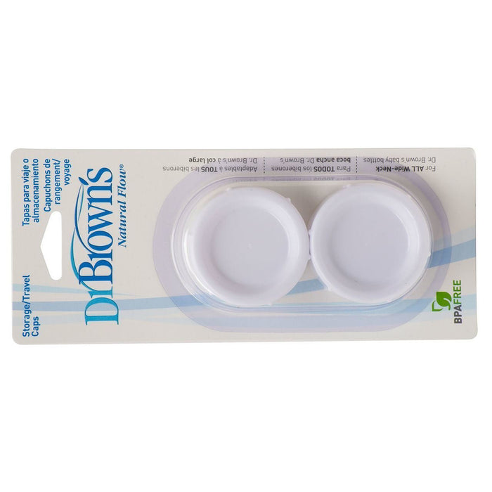 Dr. Brown's Travel/Storage Caps 2 Pack-Bottle Feeding Accessories-Mother and Baby Shop Kenya's #1 Online Baby Shop
