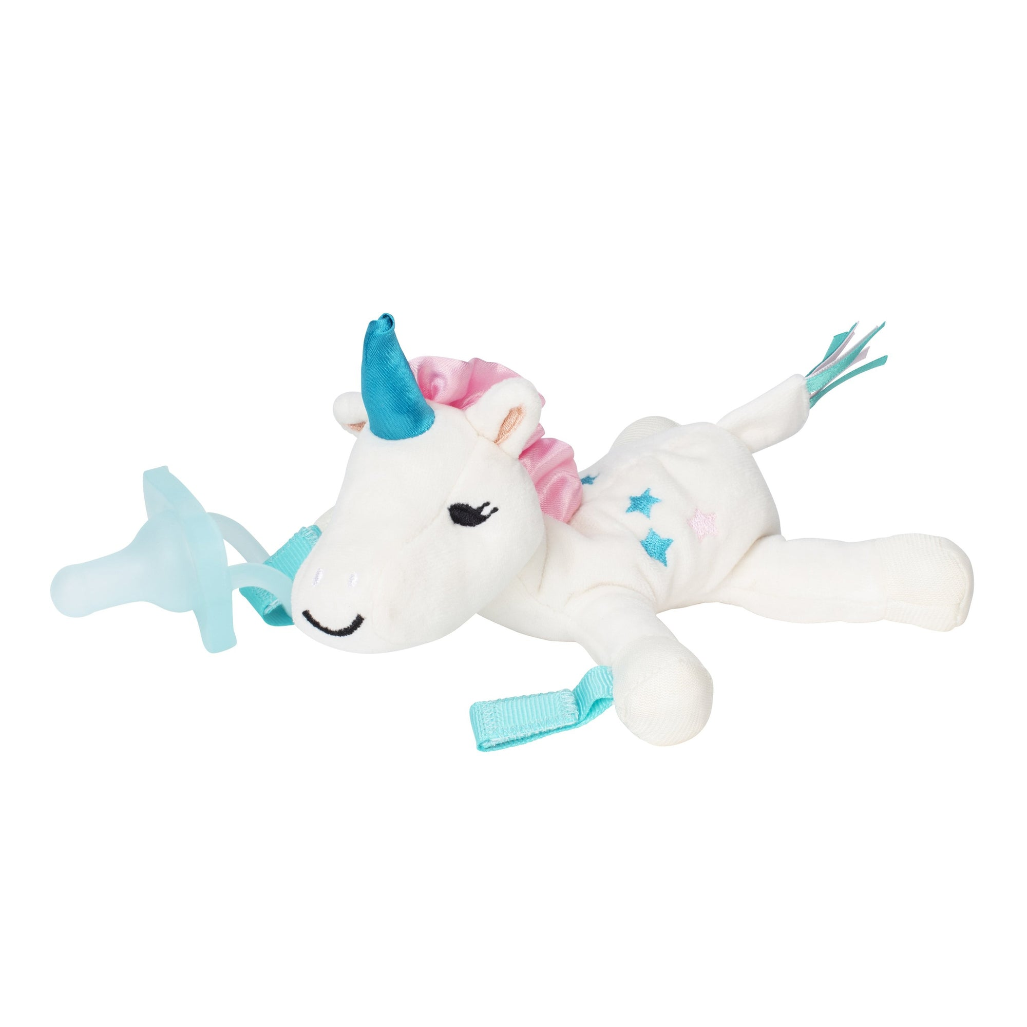 Dr. Brown's Unicorn Lovey w/Aqua One Piece Pacifier-Pacifier-Mother and Baby Shop Kenya's #1 Online Baby Shop