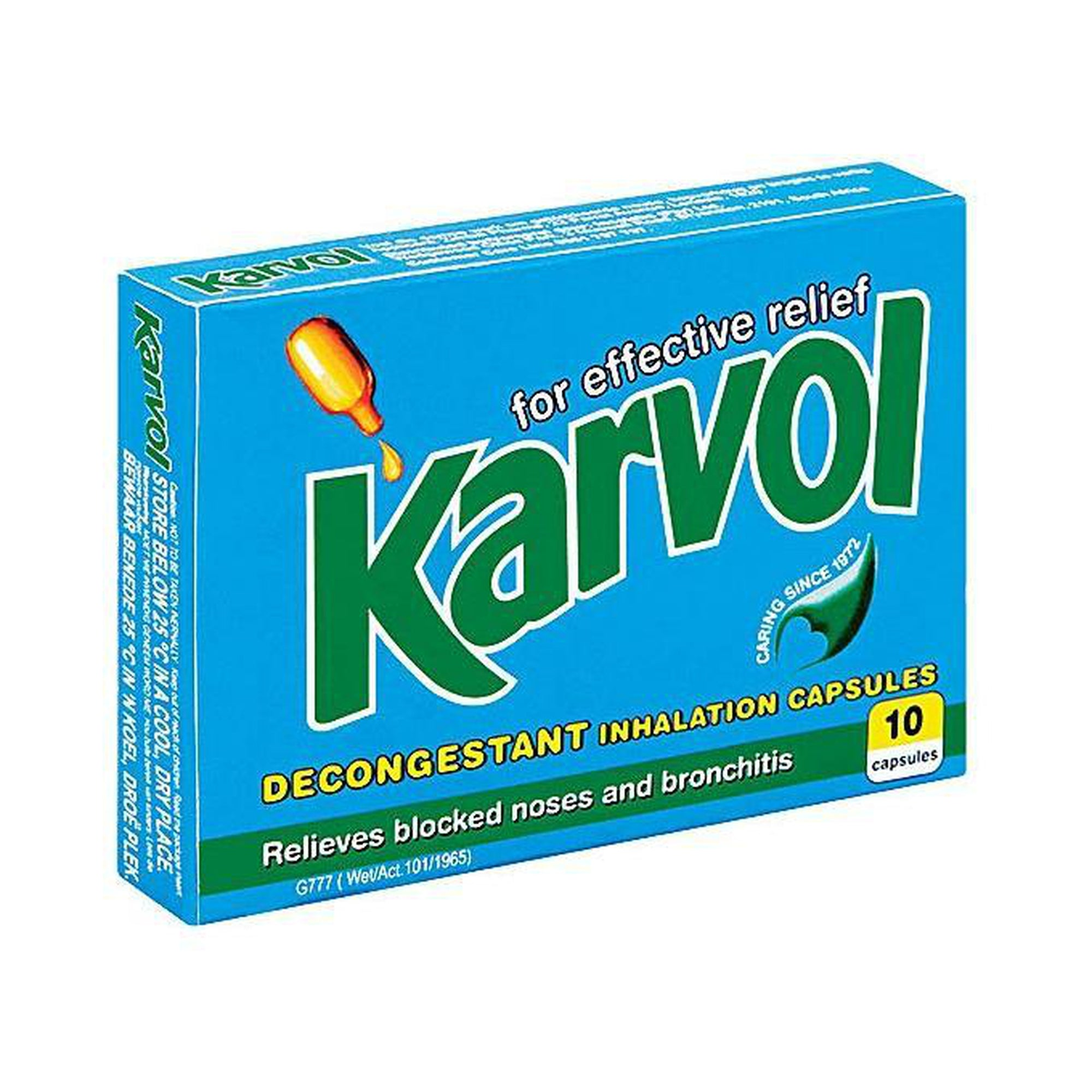 Karvol inhalation caps 10's-Mother and Baby Shop Kenya's #1 Online Baby Shop