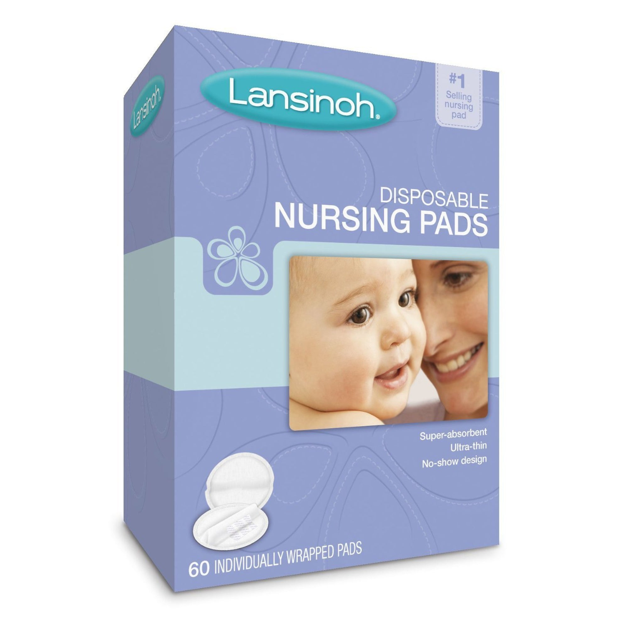 Lansinoh Disposable Nursing Pads (60 count)-Breast Pads-Mother and Baby Shop Kenya's #1 Online Baby Shop