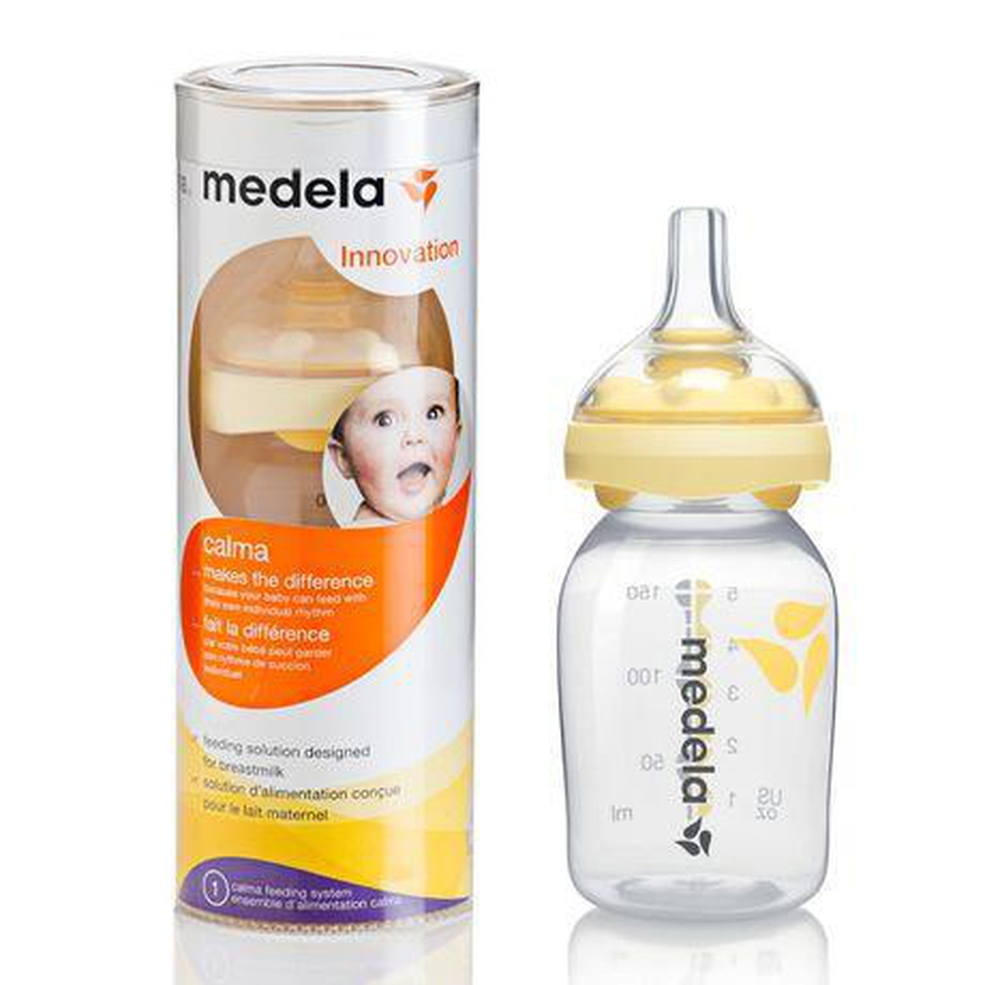 Medela Calma® With 150ml Breast Milk Bottle-Bottles-Mother and Baby Shop Kenya's #1 Online Baby Shop
