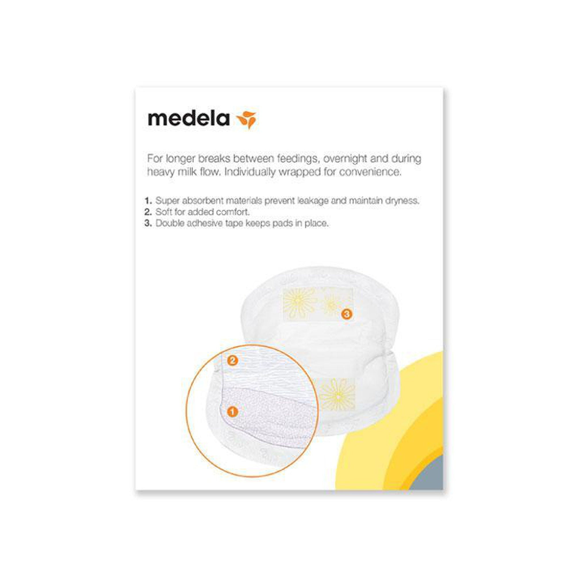 Medela Disposable Nursing Pads (30 Pcs Pack)-Breast Pads-Mother and Baby Shop Kenya's #1 Online Baby Shop