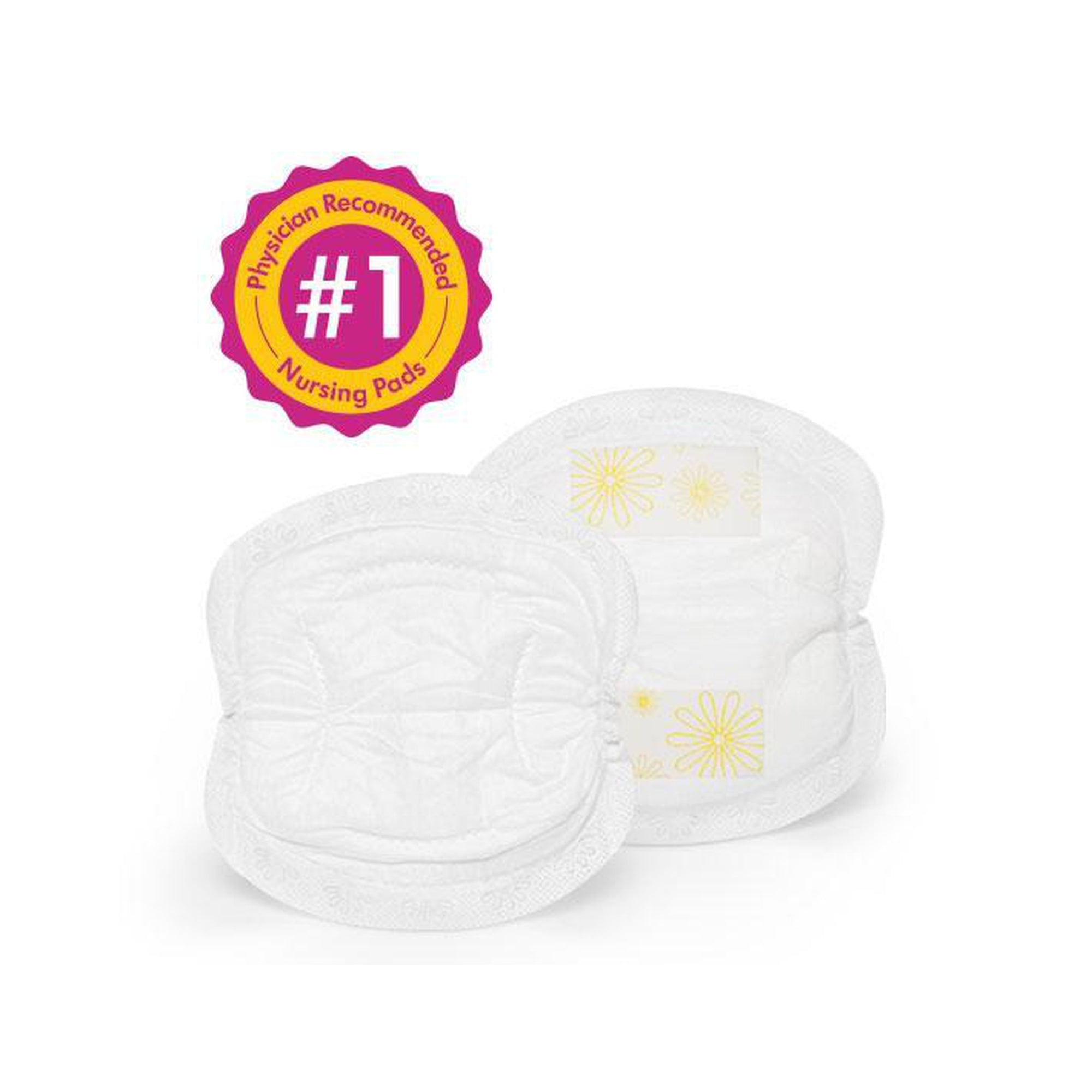 Medela Disposable Nursing Pads - (60pc Pack)-Breast Pads-Mother and Baby Shop Kenya's #1 Online Baby Shop