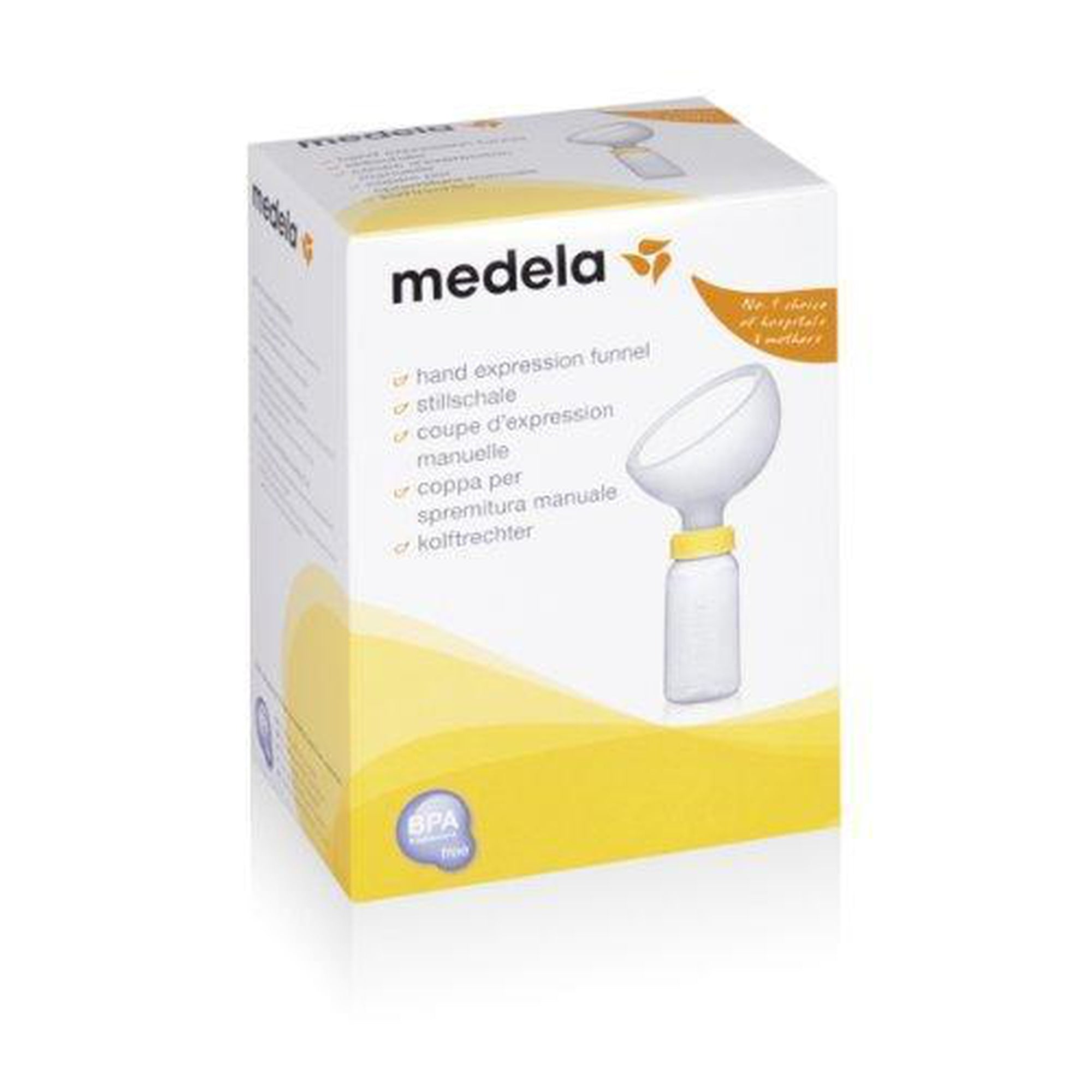 Medela Hand Expression Funnel-Breast Milk Funnel Collector-Mother and Baby Shop Kenya's #1 Online Baby Shop