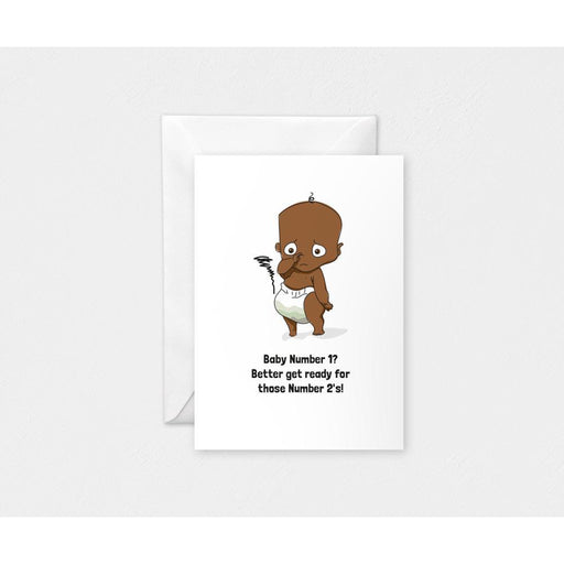 Number 2 Card-Cards-Mother and Baby Shop Kenya's #1 Online Baby Shop